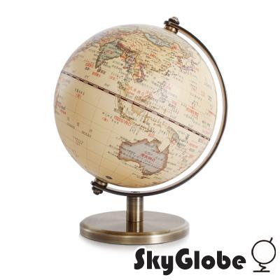 SkyGlobe 5吋仿古金屬手臂地球儀(中文版)
