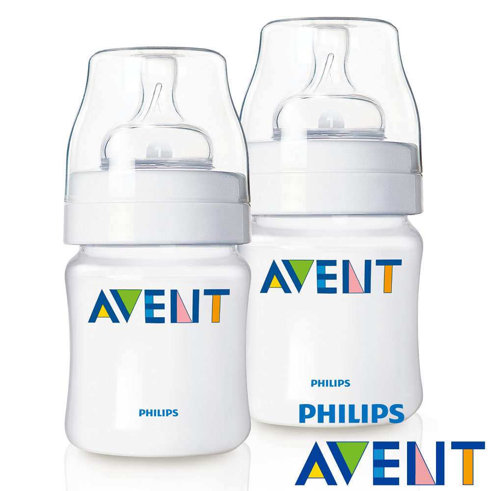 【PHILIPS AVENT】 PP防脹氣奶瓶125ml(2入)