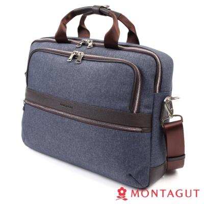 MONTAGUT夢特嬌-防潑水輕量休閒公事包-時尚