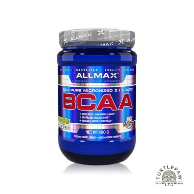 加拿大Allmax 奧美仕BCAA支鏈胺基酸粉末 (400公克)