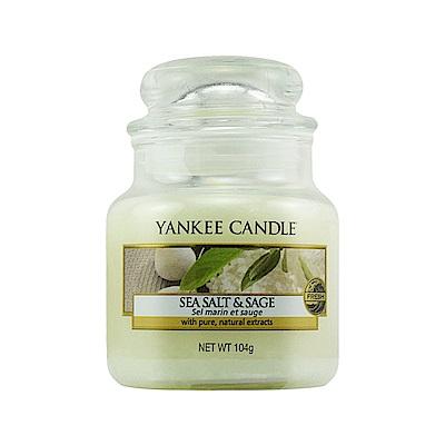 YANKEE CANDLE 香氛蠟燭-海鹽與鼠尾草104g