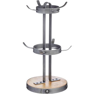 KitchenCraft 工業風掛式杯架(8杯)