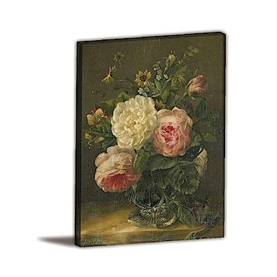 橙品油畫布-單聯式直幅 掛畫無框畫 未知的一面 60x80cm