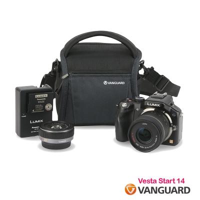VANGUARD 精嘉 唯它黑匣 14 攝影側背包 Vesta Start 14