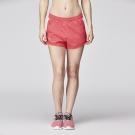 【ZEPRO】女子Breathe雙色透氣運動短褲-紅白