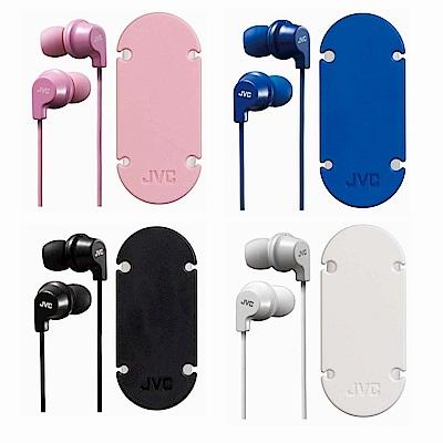 JVC吸盤式捲線器耳道式耳機HA-FX19