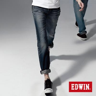 EDWIN 隨意率性 MISS NEW 503小直筒-女款(中古藍)