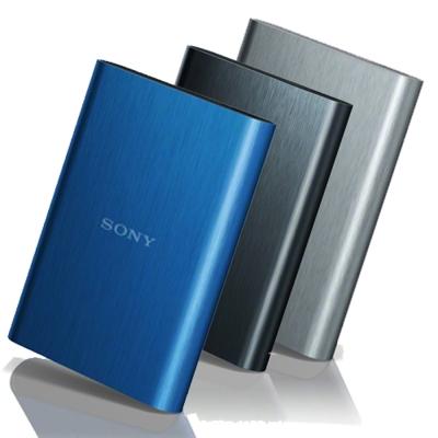 SONY 2TB 2.5吋 USB3.0 髮絲紋行動硬碟 (HD-E2)-銀色