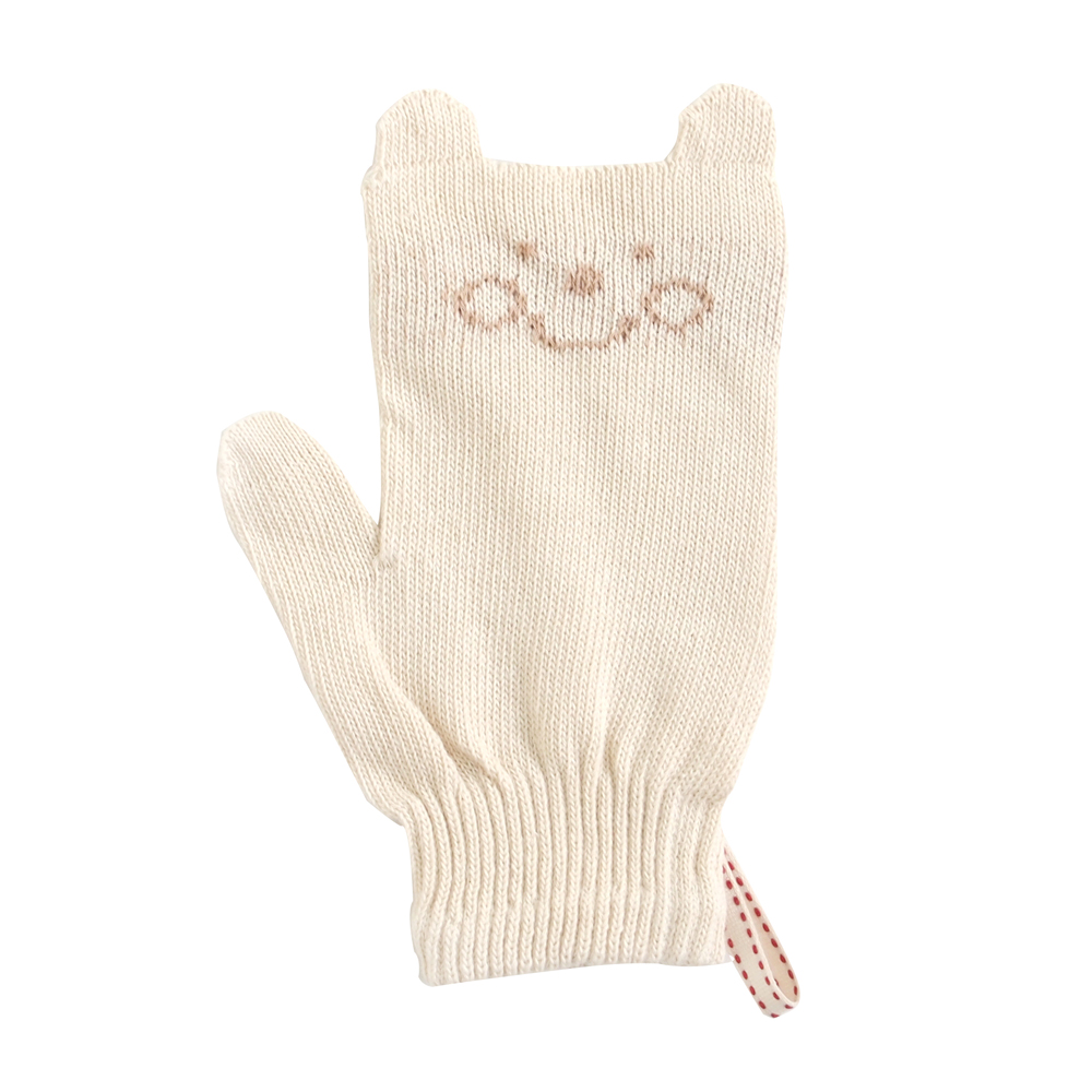 Hoppetta 有機棉寶寶專用沐浴手套