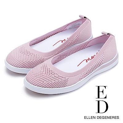 ED Ellen DeGeneres 輕量網面拼接休閒鞋-粉色