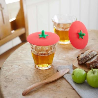 YAMAZAKI 蔬菜造型杯蓋-番茄