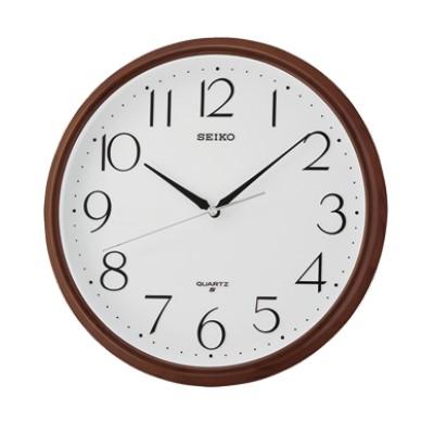 SEIKO 日本精工 掛鐘 時鐘(QXA695Z)咖啡-白/28cm