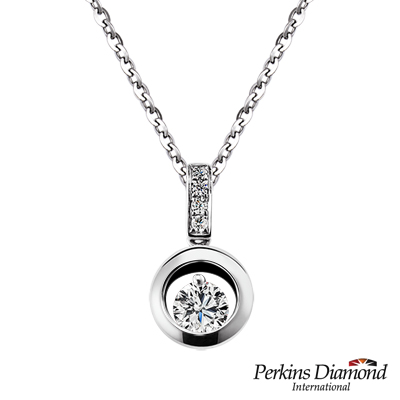 PERKINS 伯金仕 - GIA Anne系列 0.30克拉鑽石項鍊