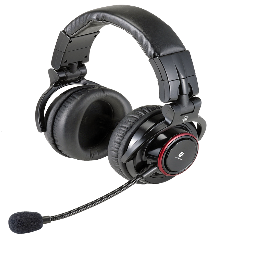 ALTEAM 我聽 USB-569K 板角青牛進階款耳罩式電競耳麥