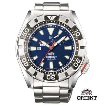 ORIENT東方錶M-FORORIENT東方錶M 潛水機械錶-藍/46mm