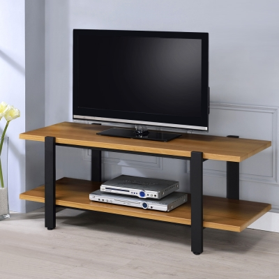 Homelike 史丹工業風4尺電視櫃-120x50x49cm