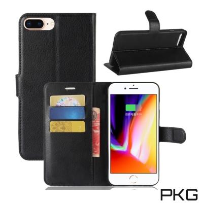 PKG Apple IPhone 7/8 Plus 側翻式皮套-經典皮套系列-時...