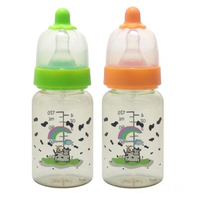 【貝喜力克】防脹氣PES直圓型奶瓶120ml*2