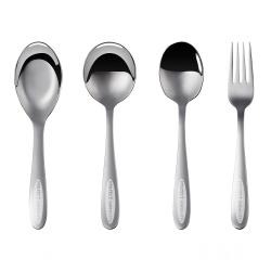 極緻316不鏽鋼大叉子/大湯匙/大圓湯匙/台式大湯匙《PERFECT 理想》