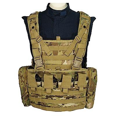 J-TECH 塔納托斯模組胸掛裝束(迷彩綠MC)
