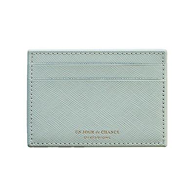 ICONIC Lady經典皮革票卡夾Ver2-薄荷綠