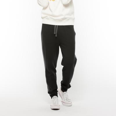 Hang Ten - 男裝 - 刷毛束口運動褲 - 黑