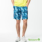 bossini男裝-休閒海灘快乾褲02孔雀藍