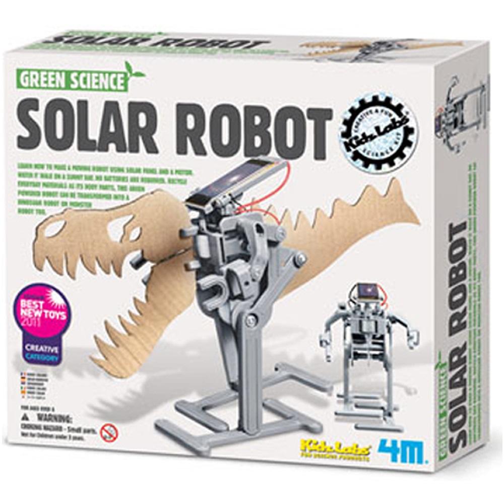 4M科學探索 太陽能機器人Solar Robot