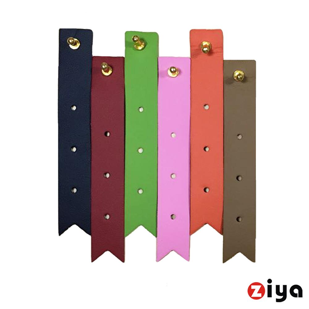 ZIYA 設計款繽紛集線器 線材與耳機的整理小幫手 (可愛歐風領帶系列 二入)
