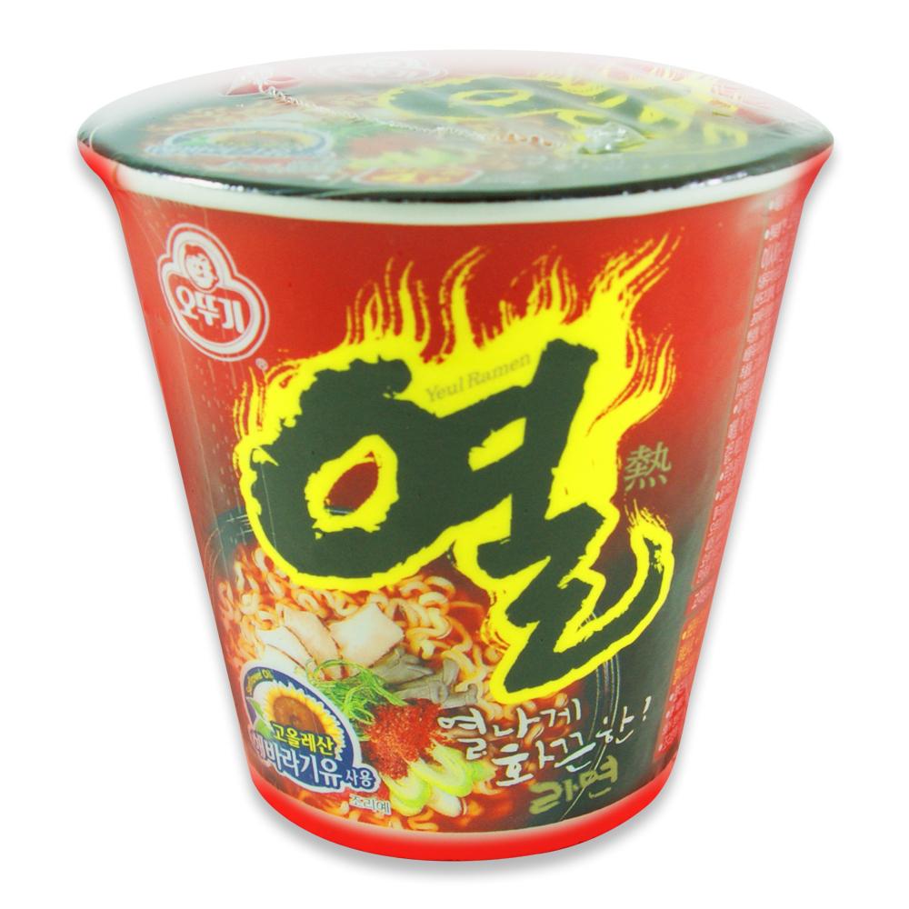 韓國不倒翁OTTOGI 辛辣杯麵(62g)