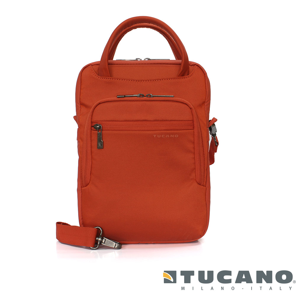 Tucano Work_Out II 11 吋簡潔直立側背包 (橘色)