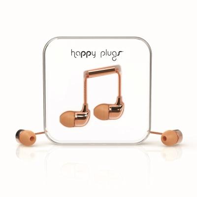 Happy Plugs 音符入耳式耳機 奢華限定款-玫瑰金
