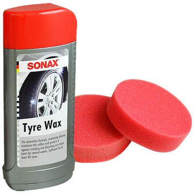 【SONAX】亮麗不油膩輪胎蠟