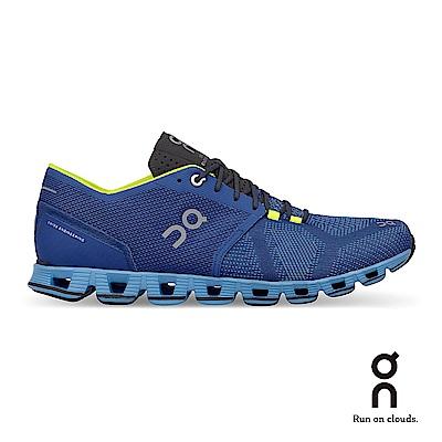 ON 瑞士雲端科技跑鞋-輕量雲X 男款 午夜藍