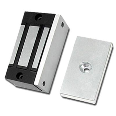 防盜門禁 KINGNET 100磅磁力鎖 適用置物櫃 圍欄 抽屜 木門 信箱