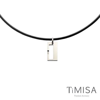 TiMISA《扣住幸福-小》活力鈦項圈