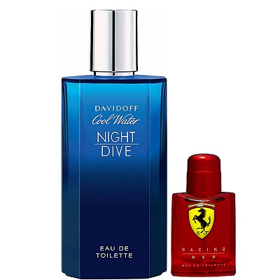 Davidoff  Night Dive 冷泉夜戀淡香水125ml 搭贈隨機4ml 小香水