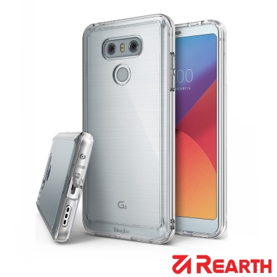 Rearth LG G6 (Ringke Fusion) 透明保護殼