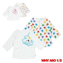 WHY AND 1/2紗布衣兩件組0~6M多色可選