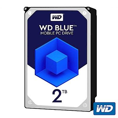 WD20SPZX 藍標 2TB(7mm) 2.5吋硬碟