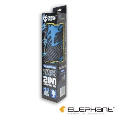 ELEPHANT龍戰系列-精準狙擊 2合1鍵盤滑鼠墊-控制版(GP-004)