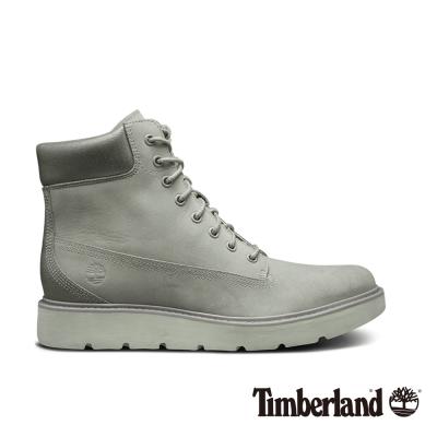 Timberland 女款淡灰色絨面Kenniston6吋綁帶靴