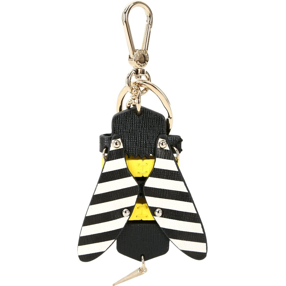 FURLA TWEET 蜜蜂造型皮革吊飾/鑰匙圈