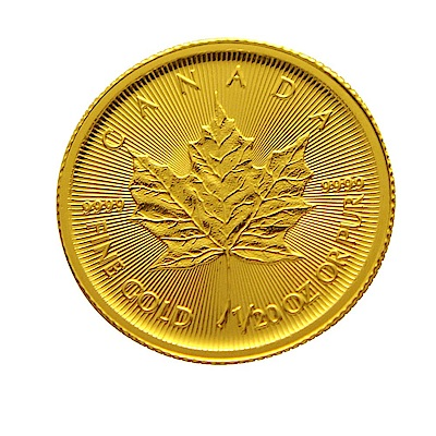 楓葉金幣-加拿大2018楓葉金幣 (1/20盎司)