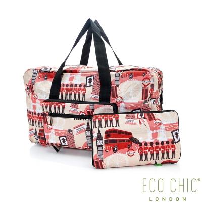 英國ECO CHIC時尚旅行袋-英倫