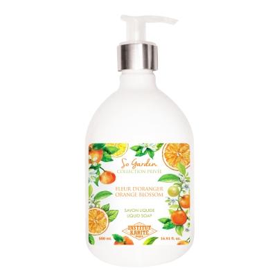 Institut Karite Paris 巴黎乳油木橙花花園香氛液體皂500ml
