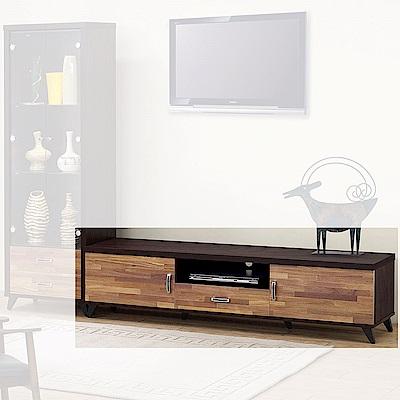 H&D 威爾森積層木6尺長櫃 (寬180.5X深40X高44.5cm)