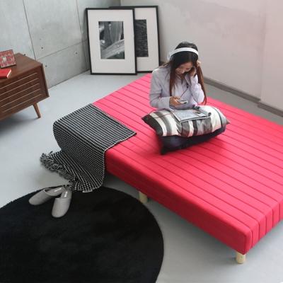 群居空間 硬式二合一懶人床(六色可選)