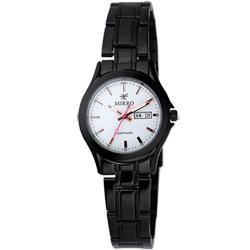 MIRRO 浪漫時光腕錶-黑白/27mm