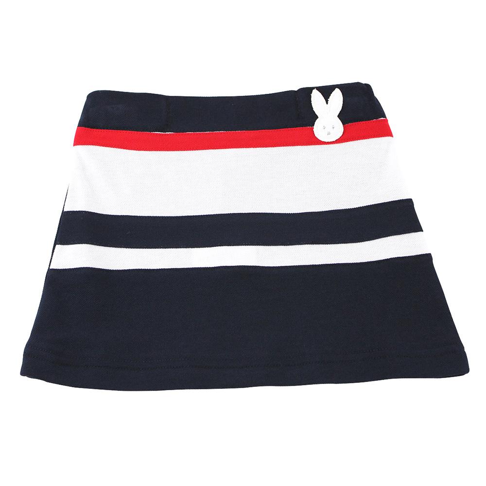 愛的世界 pappa&ciccia 純棉海灘小兔運動短裙/2歲